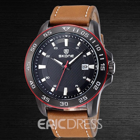 Ericdress JYY Stereotype Three Circle Numerals Dial Watch