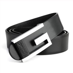 Ericdress Classic Pattern Letter Buckle Mens Belt