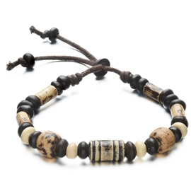 Chic Beads Men's Ceramics Bracelet