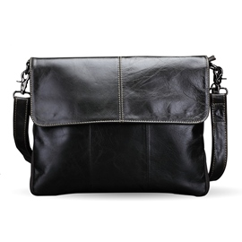 Ericdress PU Plain Thread Men's Shoulder Bags