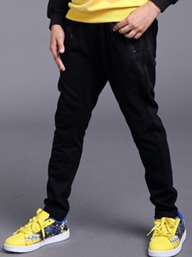 Ericdress Plain Thick Boys Sport Pants
