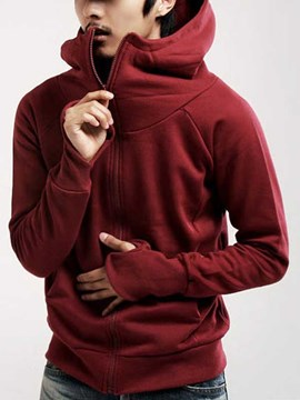 Ericdress Plain Casual Spring and Autumn Men's Hoodie