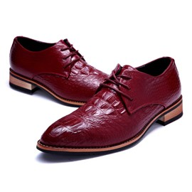 Ericdress Croco Office Men's Oxfords