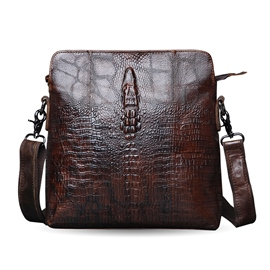Ericdress Alligator Pattern Men's Shoulder Bag