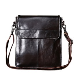 Ericdress Plain PU Fashion Men's Shoulder Bags