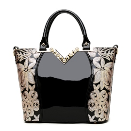 Ericdress Sequins Decorated Embroidery Handbag