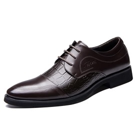 Ericdress Croco Emboss Men's Oxfords