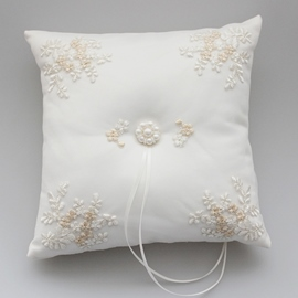 Ericdress High Quality Pearls Ring Pillow