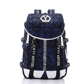 Ericdress Letter Canvas Men's Backpack