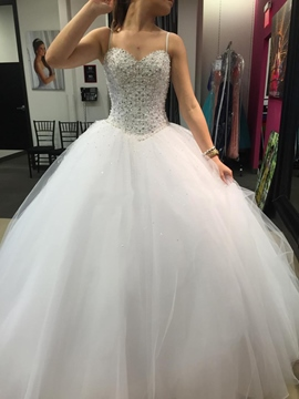 Ericdress Luxury Sweetheart Ball Gown Wedding Dress