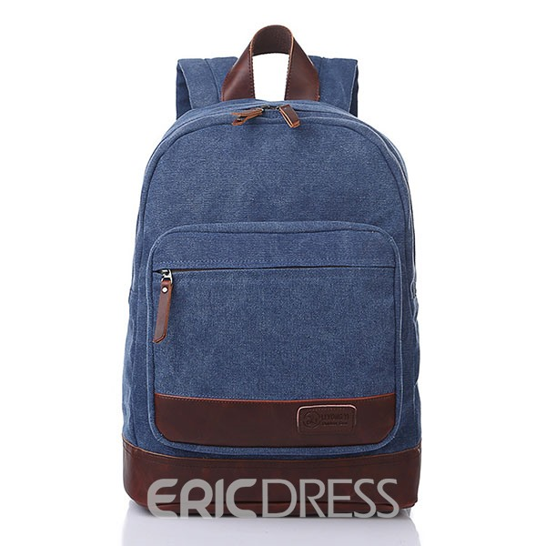 Ericdress Unisex Canvas Travel Backpack