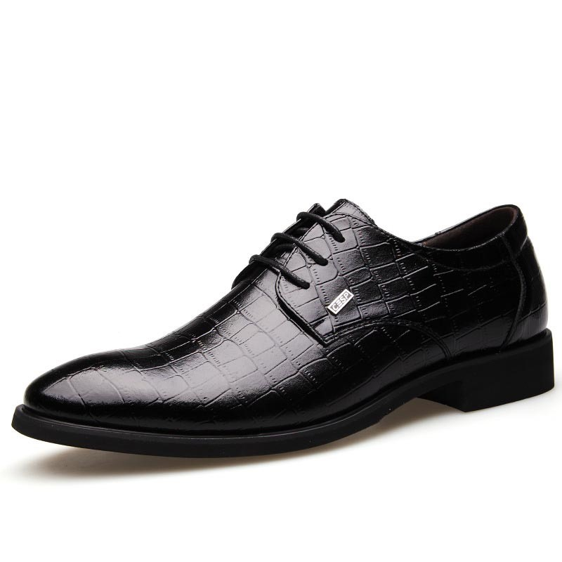 Ericdress Smart Croco Point Toe Mens Oxfords 11614008