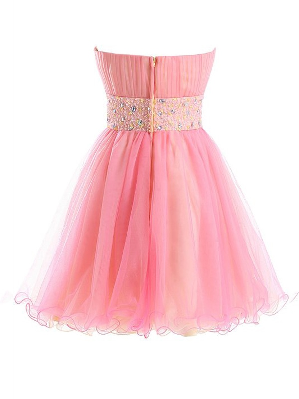 Ericdress Sweetheart A-Line Beading Pleats Sequins Short Homecoming Dress