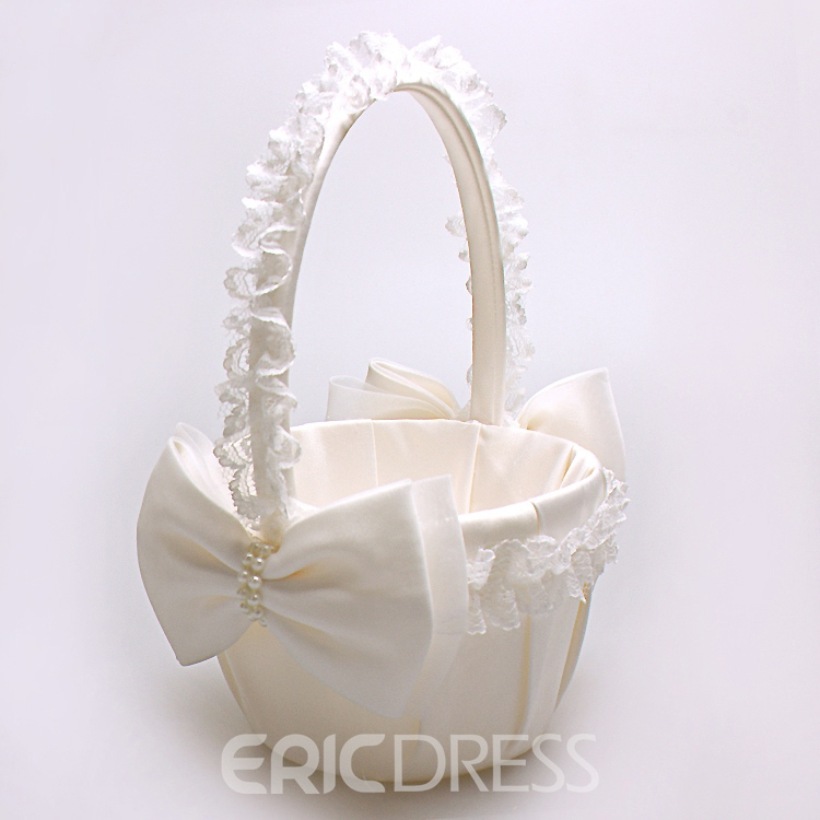 Ericdress Beautiful Flower Girl Basket
