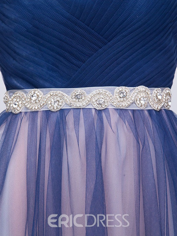 Ericdress Sweetheart Beading Pleats Casual Prom Dress