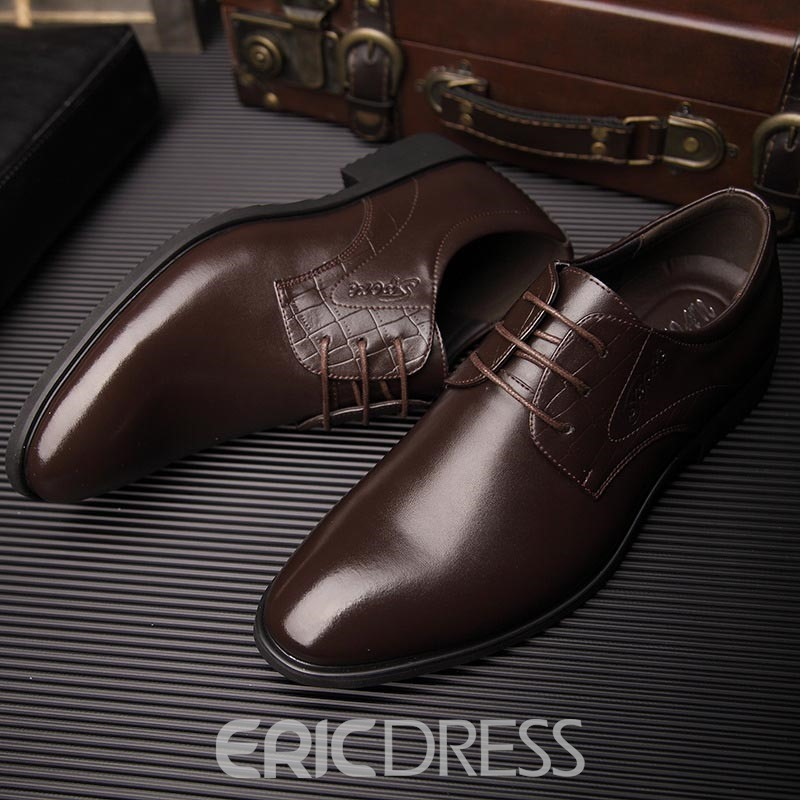 Ericdress Spring Point Toe Men's Oxfords