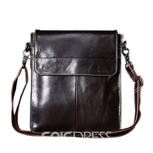 619c20e347c6 Ericdress Plain PU Fashion Men s Shoulder Bags 13684899 - Ericdress.com