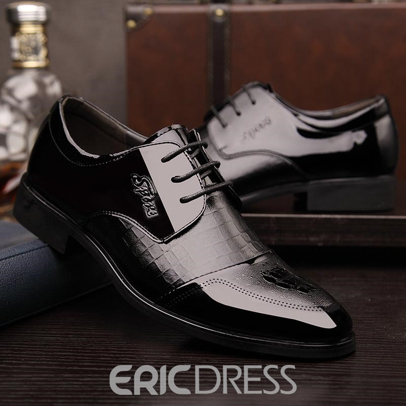 Ericdress Luxurious Lace up Men's Oxfords