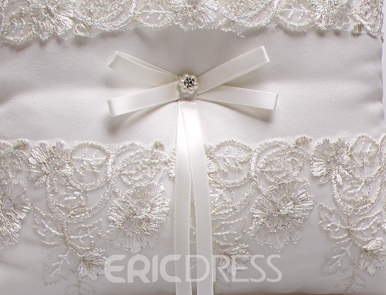 Ericdress High Quality Lace Ring Pillow