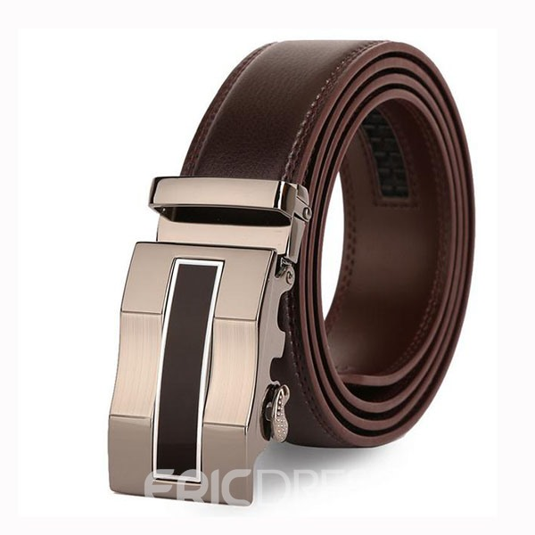 Ericdress Alloy Buckle Men's Automatic Belt