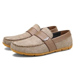 Ericdress Suede Patchwork Men's Moccasin-Gommino