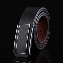 Ericdress Casual Youth Plate Buckle Men's Belt