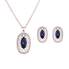 Ericdress hohl-Strass-Schmuck-Set