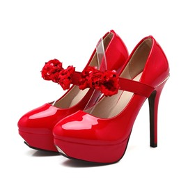 Ericdress Lovely Glittering Bowtie Prom Shoes