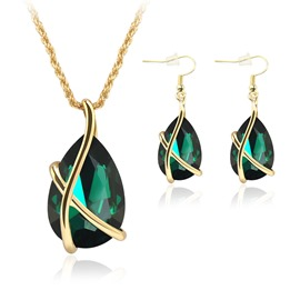 Ericdress Reminiscence Crystal Jewelry Set