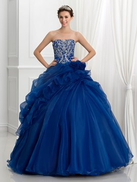 ericdress trägerlosen pailletten stickerei pick-ups ballkleid quinceanera kleid