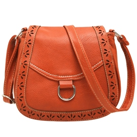 Ericdress Preppy Practical PU Shoulder Bag