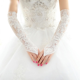 Ericdress Lace Wedding Gloves