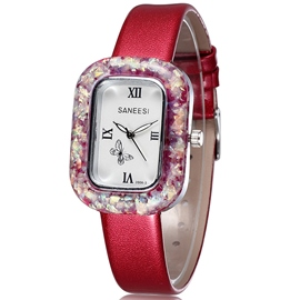 Ericdress Square Rome Figures OL Style Women's Watch