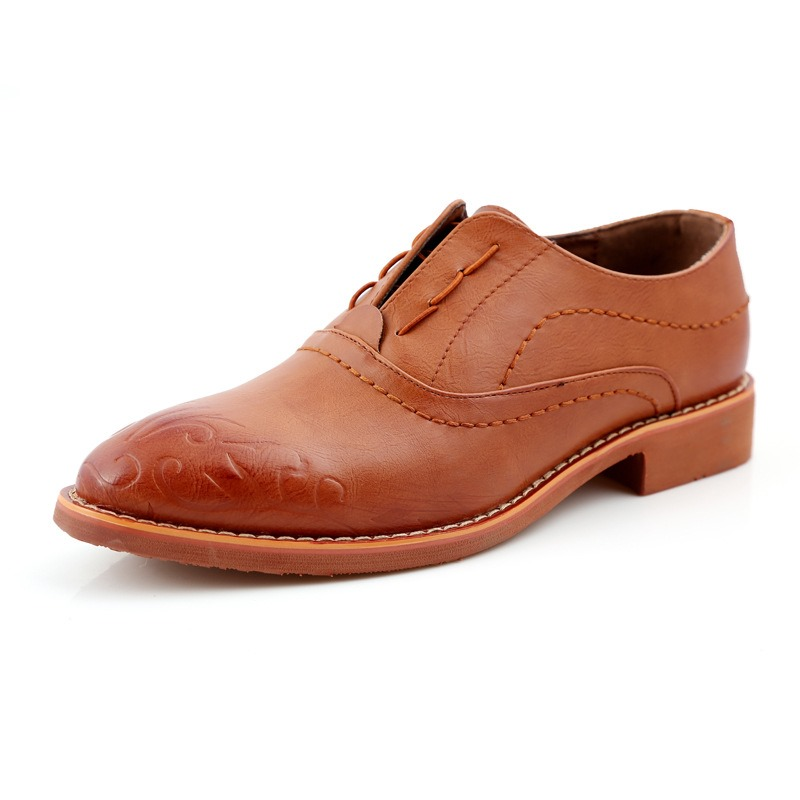 Ericdress Fashion Embossed Mens Brogues