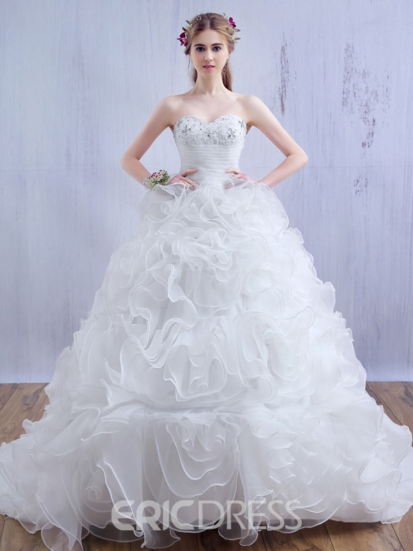 Ericdress Classical Sweetheart Wedding Dress
