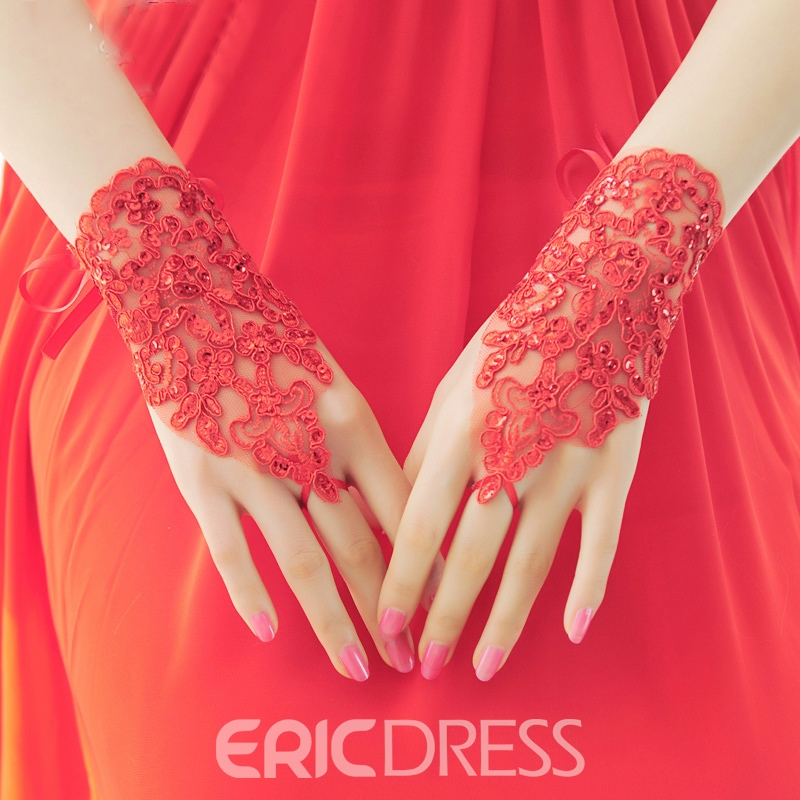 Ericdress Lace Short Bridal Gloves