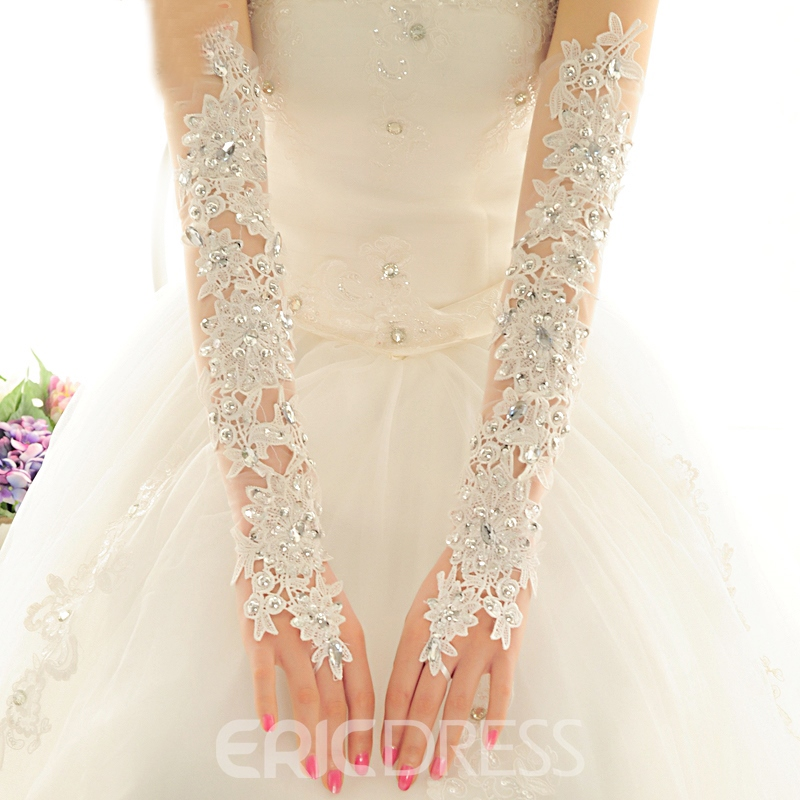 Ericdress Fancy Lace Wedding Gloves