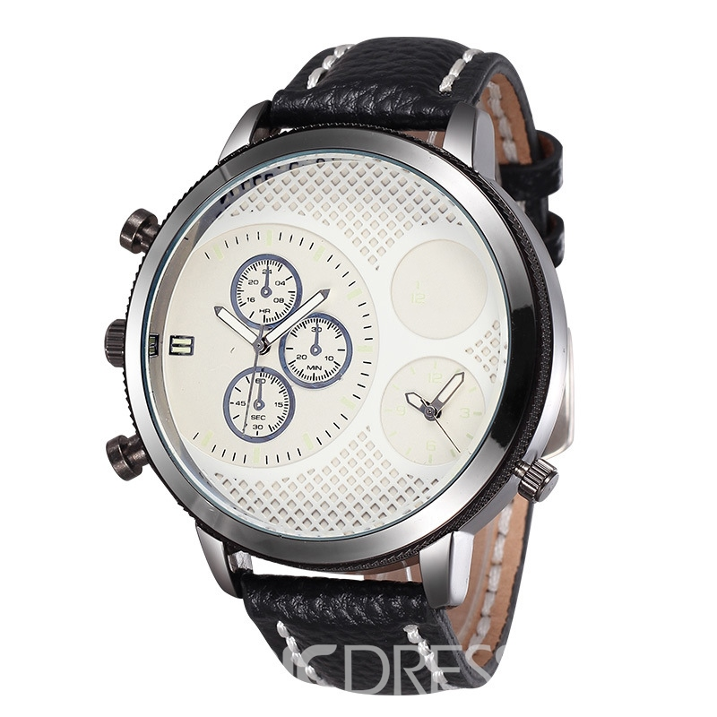 Ericdress JYY Vogue Double Scale Men's Watch
