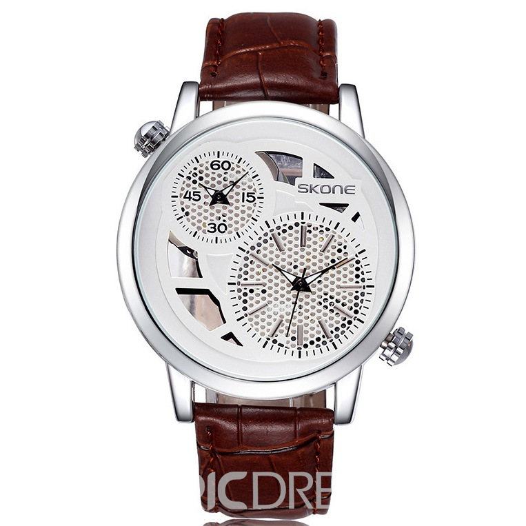 Ericdress JYY Personality Double Dial Men's Watch
