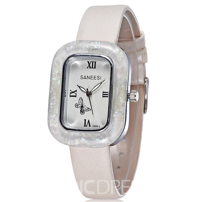 Ericdress JYY Square Rome Figures OL Style Women's Watch