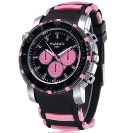 Ericdress Unisex Silicone Belt Watch