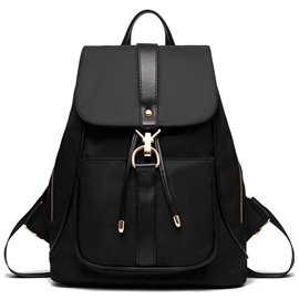 Ericdress Color Block Nylon Backpack