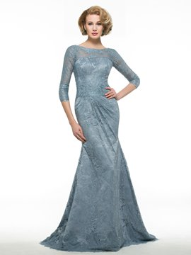 Ericdress elegante Bateau Mermaid Spitze Mutter der Brautkleid