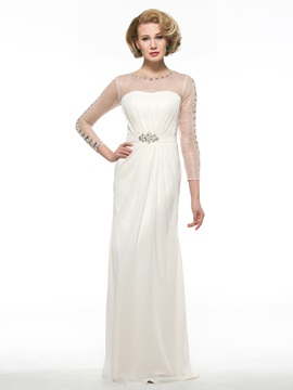 Ericdress Fancy A Line Long Mother Of The Bride Dress