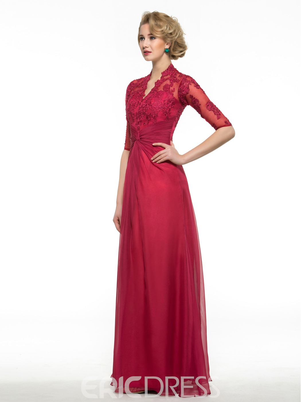 Ericdress Elegant Appliques A Line Mother Of The Bride Dress