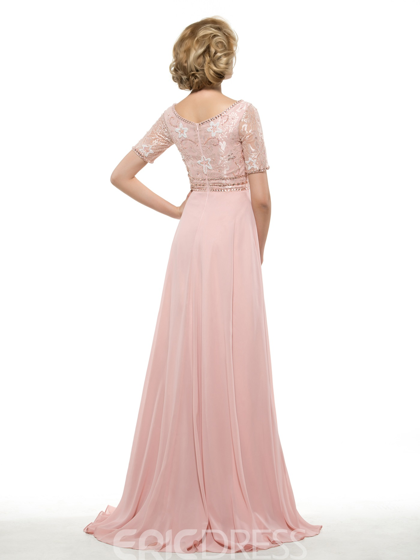 Ericdress Elegant A Line Lace Long Mother Of The Bride Dress
