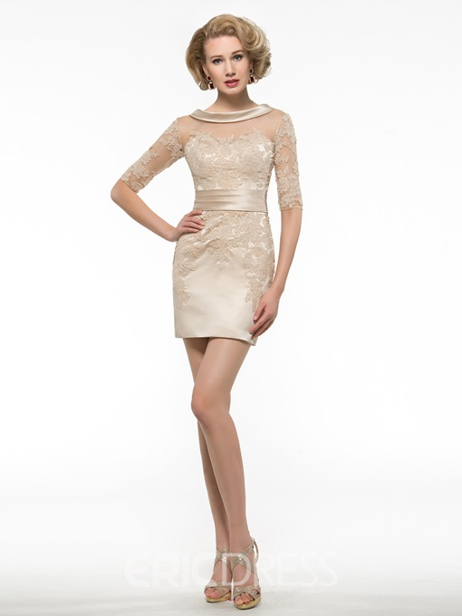 Ericdress High Quality Sheath Short Mother Of The Bride Dress