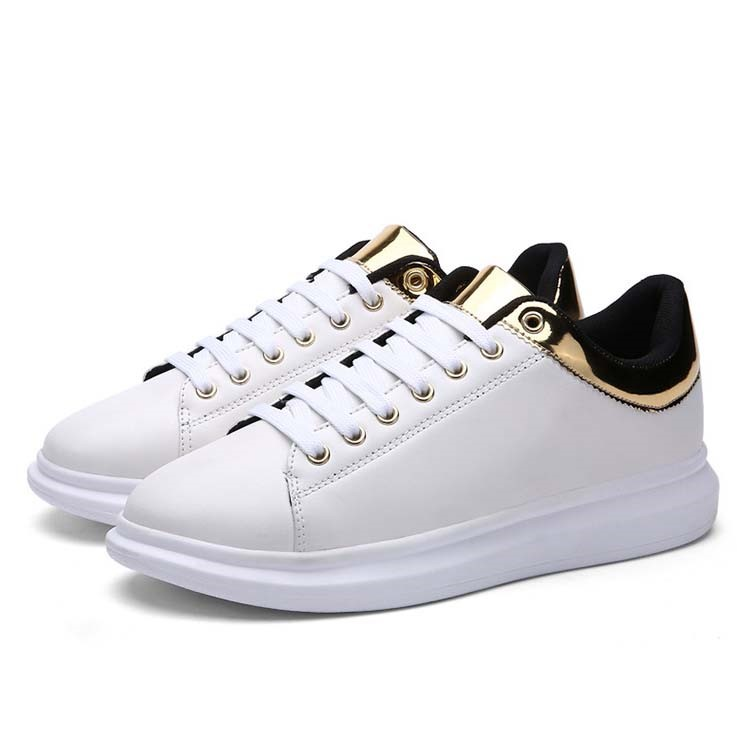 Ericdress Fashion Metal Decoration Mens Sneakers