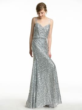 Ericdress Beautiful Sequins Bridesmaid Dress