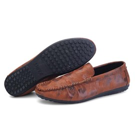 Ericdress Unique Print Men's Moccasin-Gommino